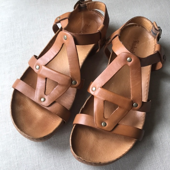 40c11006472a5a Timberland ankle strap leather sandals in Tan. M 5abe750e46aa7cf77a2eaab3